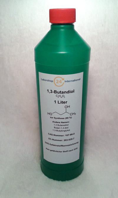 Etikett 1,3 Butandiol German Produktbild